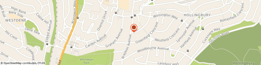 Route/map/directions to Slimming World, BN1 8HG Brighton, BRAYBON AVENUE