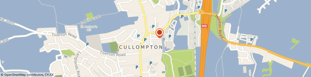 Route/map/directions to Continental Cars Wholesale, EX15 1AG Cullompton, PARTS WAREHOUSE, HIGHER MILL LANE