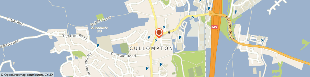 Route/map/directions to The Kings Head, EX15 1AF Cullompton, 33-35 High Street