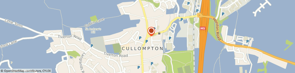 Route/map/directions to County Sports, EX15 1AH Cullompton, 3 Station Road