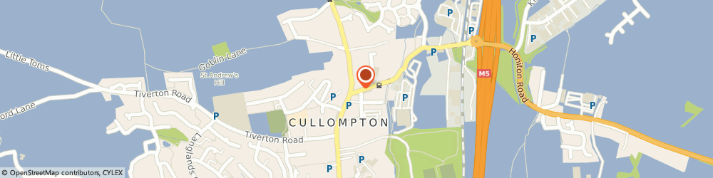 Route/map/directions to Holladay Electrical, EX15 1AH Cullompton, 7 Station Rd