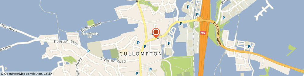 Route/map/directions to Boots Collompton Station Road, EX15 1AH Cullompton, 21-23 Station Rd