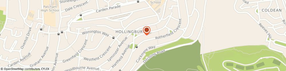 Route/map/directions to Willows' Woofers, BN1 8FD Brighton, 16 Fernhurst Cres
