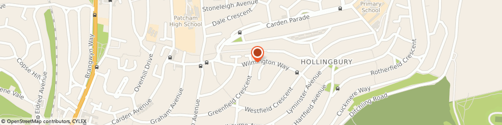 Route/map/directions to Awsons, BN1 8JG Brighton, 54, WILMINGTON WAY