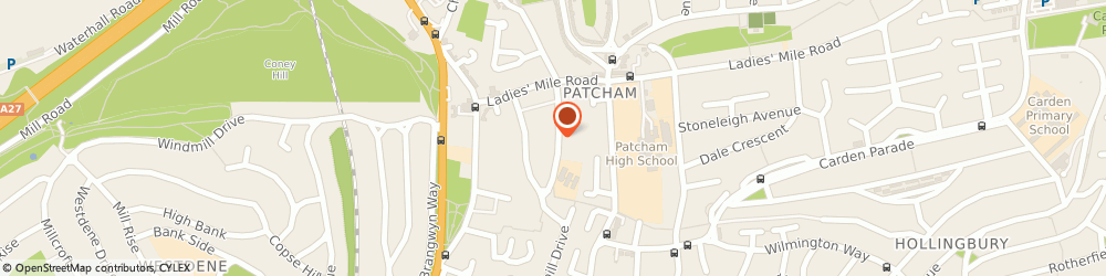 Route/map/directions to Howarth Financial, BN1 8WQ Brighton, 12 Highview Avenue South
