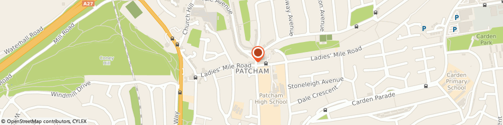 Route/map/directions to Sussex Pet Stores Ltd, BN1 8QE Brighton, 29A Ladies' Mile Road