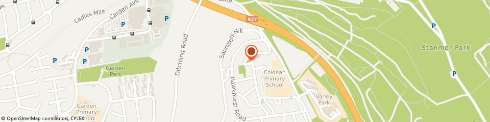Route/map/directions to Coldean Pharmacy, BN1 9ED Brighton, 16 Beatty Avenue