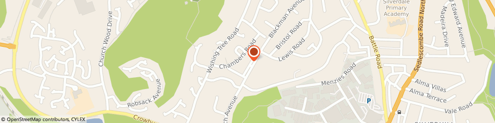 Route/map/directions to TS Electrical, TN38 9EH St Leonards-On-Sea, 124 Blackman Ave