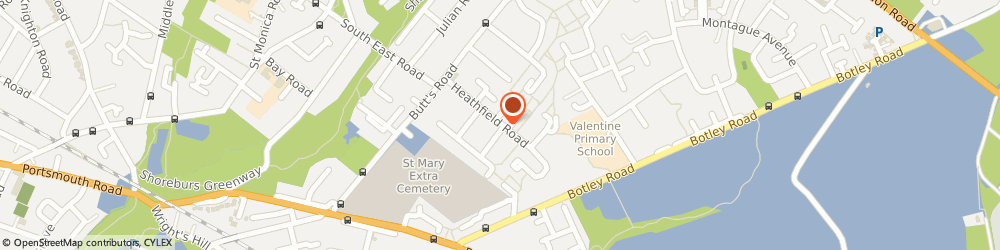 Route/map/directions to Rob Dine Construction, SO19 1DP Southampton, 50, Heathfield Road
