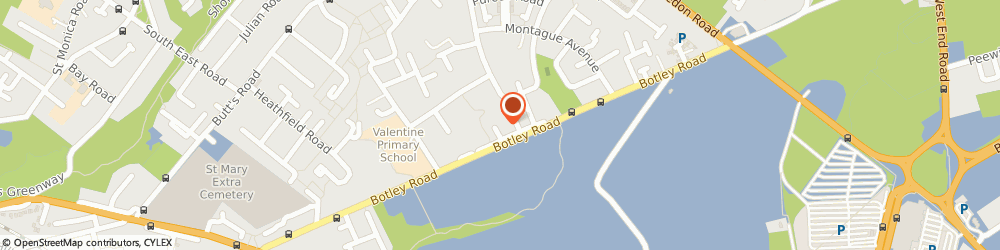 Route/map/directions to Spartan Property Protection Services Ltd, SO19 0RX Southampton, 14 DAINTREE CLOSE