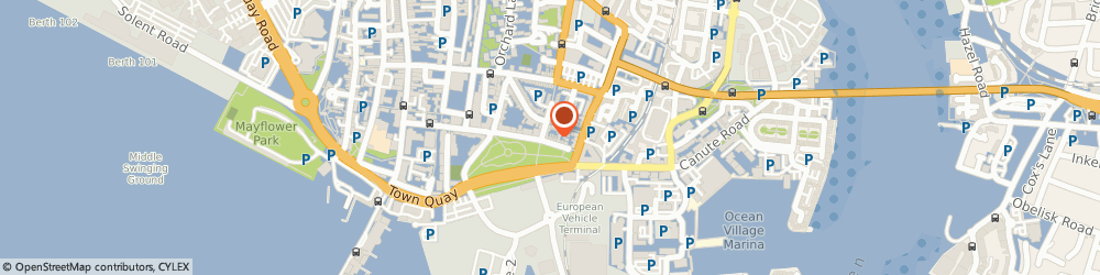 Route/map/directions to Ajh Hypnotherapy Southampton, SO14 3BQ Southampton, 25 QUEENS TERRACE