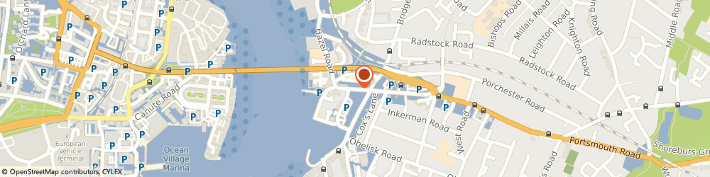 Route/map/directions to Toe-Tal Podiatry, SO19 9BA Southampton, 25 PORTSMOUTH ROAD