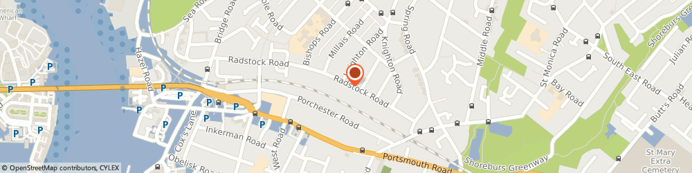 Route/map/directions to St James Care, SO19 2HU Southampton, 106-108 Radstock Road