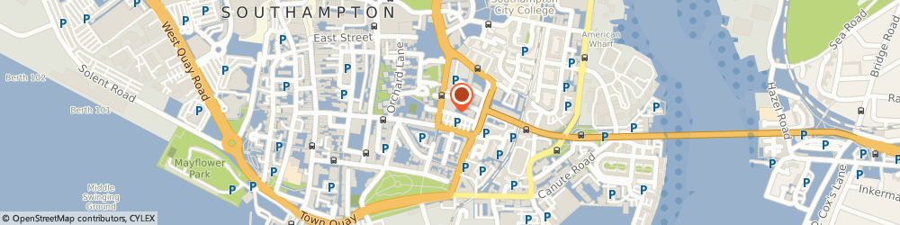 Route/map/directions to JONES ENTERPRISES LTD, SO14 3LA Southampton, College Street