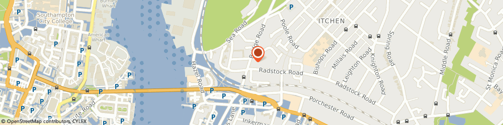 Route/map/directions to Transcreate, SO19 7GQ Southampton, BRIDGE ROAD
