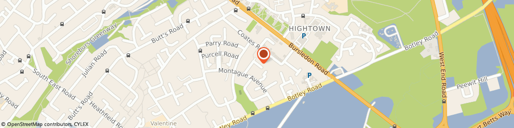 Route/map/directions to Home Builders Hampshire, SO19 0QD Southampton, 32 Montague Close