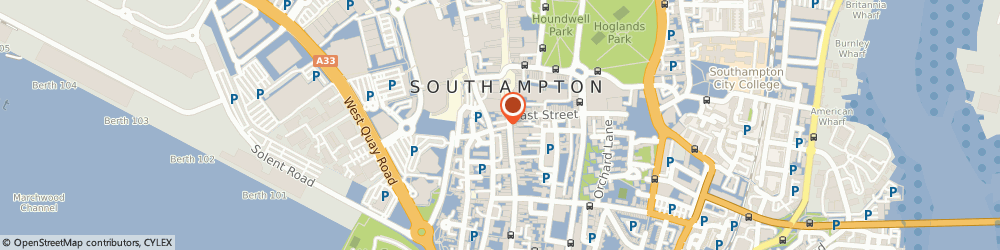 Route/map/directions to Shanghai 1814 Restaurant, SO14 2NZ Southampton, 165-168 High St