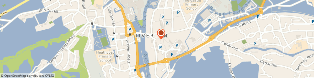 Route/map/directions to Mettam Ware, EX16 6LN Tiverton, 15A, Fore St