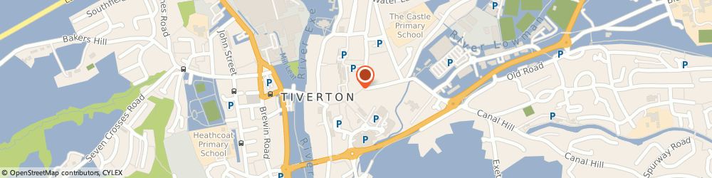Route/map/directions to Lloyds Bank - Tiverton, EX16 6LF Tiverton, 46 Fore Street
