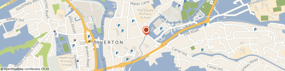 Route/map/directions to Hair & Beauty Zone, EX16 6PX Tiverton, 48 Gold Street