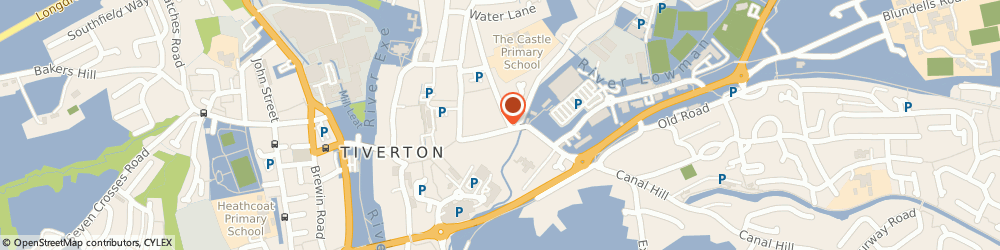 Route/map/directions to Mojo's Hair & Beauty Salon, EX16 6PY Tiverton, 34 Gold Street