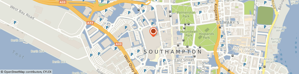Route/map/directions to Whittard of Chelsea, SO15 1QF Southampton, Westquay Shopping Centre