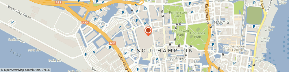 Route/map/directions to Vision Express Opticians - Southampton - West Quay, SO15 1QD Southampton, Unit SU31 Upper Level