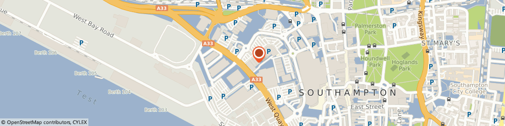 Route/map/directions to Matalan, SO15 1BA Southampton, Harbour Parade