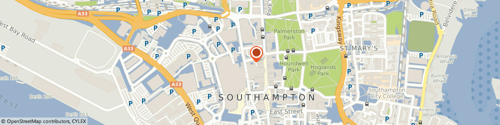 Route/map/directions to Paperchase, SO15 1QD Southampton, West Quay Shopping Centre, Hampshire