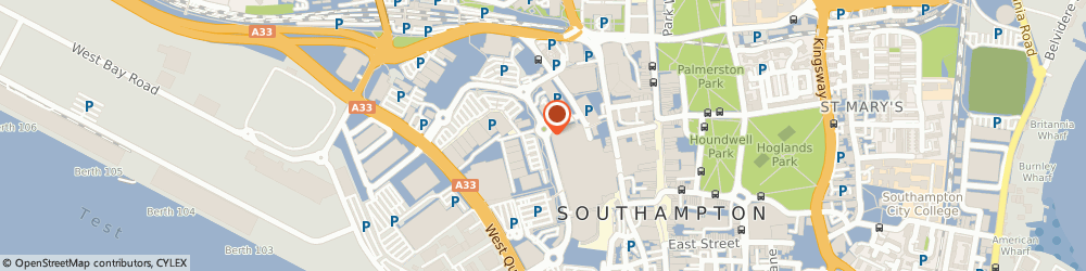 Route/map/directions to M&S Marks and Spencer SOUTHAMPTON, SO15 1QB Southampton, 23 Harbour Parade