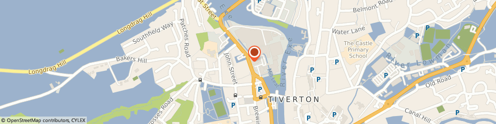 Route/map/directions to Shireen's, EX16 5LG Tiverton, 24 Leat Street