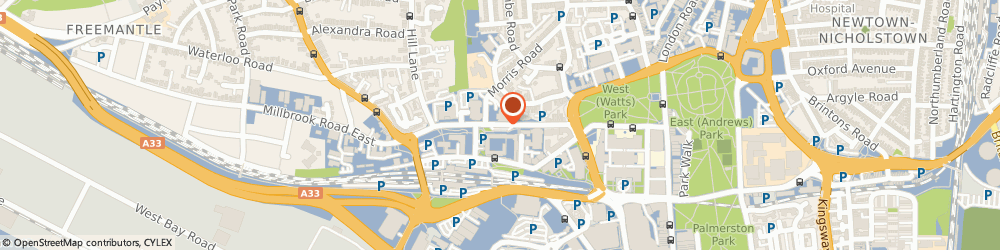 Route/map/directions to Bond Dickinson LLP, SO15 1GA Southampton, 39-49 Commercial Road