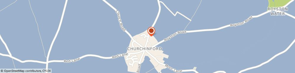 Route/map/directions to Post Office Limited, TA3 7DJ Churchinford, Churchinford Community Shop