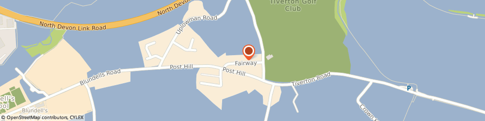 Route/map/directions to Babb & Green Finance Ltd, EX16 4NF Tiverton, 8 FAIRWAY