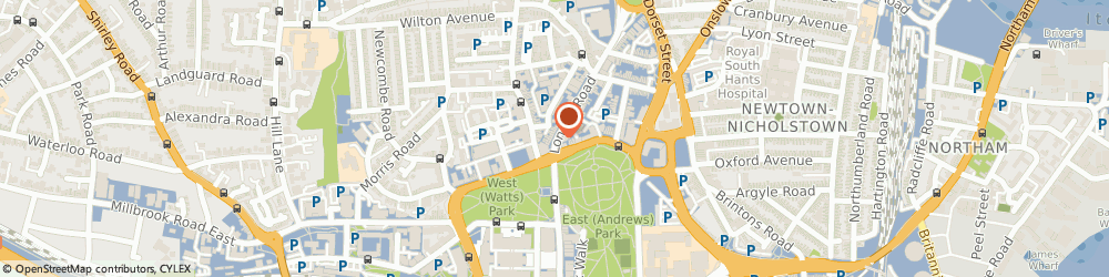 Route/map/directions to I & P Management Services Ltd, SO15 2AE Southampton, 5 London Road