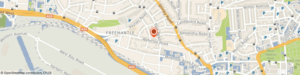 Route/map/directions to Shirley Tiling, SO15 3BG Southampton, 7 Queenstown Road