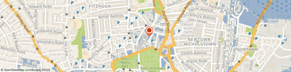 Route/map/directions to Southampton Crown Court Witness Service, SO15 2XQ Southampton, London Road