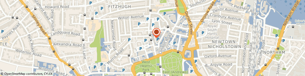 Route/map/directions to Tim's Bistro, SO15 2DB Southampton, 19 Bedford Pl
