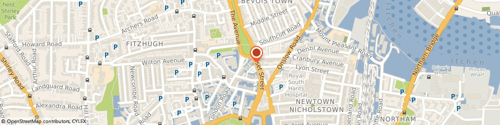 Route/map/directions to The Mortgage Hut - Southampton, SO15 2FE Southampton, 14 College Place