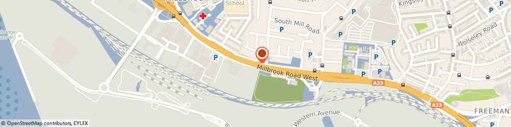 Route/map/directions to Total Boiler Spares Ltd, SO15 0HX Southampton, 449 Millbrook Road West