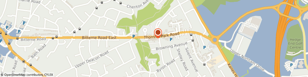 Route/map/directions to Pet Vet Veterinary Surgery, SO18 5TQ Southampton, 54, THORNHILL PK ROAD