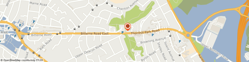 Route/map/directions to Post Office Limited, SO18 5TP Southampton, 15 Thornhill Park Road
