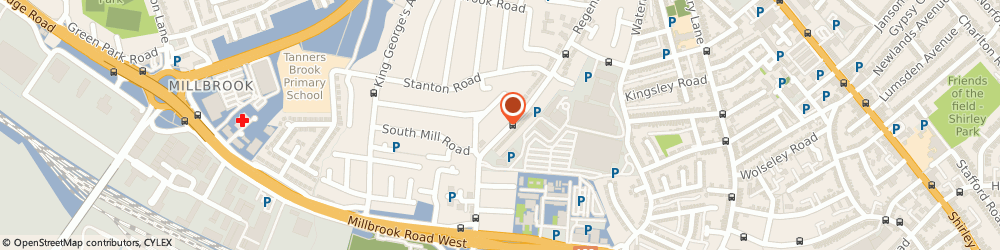Route/map/directions to INDULGE BAKERY LTD, SO15 8PF Southampton, 65 Regents Park Road