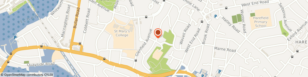 Route/map/directions to L P Gas Services, SO18 4RL Southampton, 5, Rossington Way