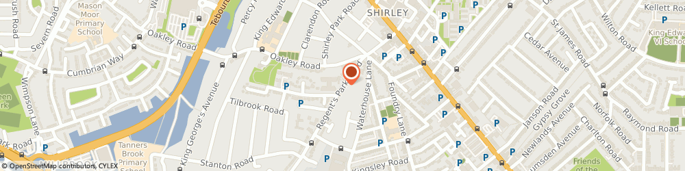 Route/map/directions to Regents Property Agents Limited, SO15 8NY Southampton, 156 REGENTS PARK ROAD
