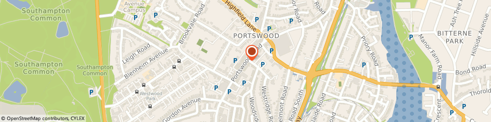 Route/map/directions to Portswood Hardware, SO17 2NF Southampton, 197 PORTSWOOD ROAD