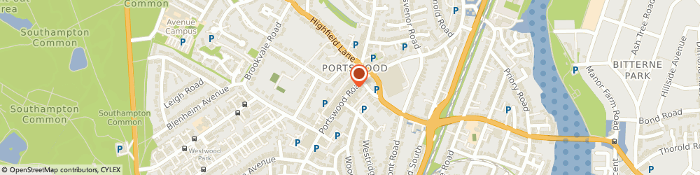 Route/map/directions to Portswood Cards, SO17 2NG Southampton, 239 PORTSWOOD ROAD