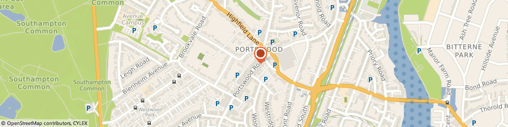 Route/map/directions to Portswood Peri Peri, SO17 2NG Southampton, 237 Portswood Rd