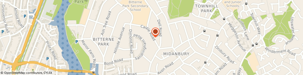 Route/map/directions to Glc Plumbing & Heating Ltd, SO18 1QP Southampton, 19 Castle Rd