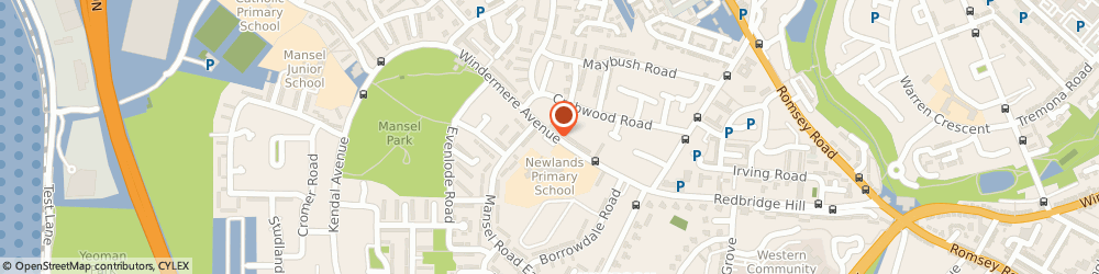 Route/map/directions to Pickles Coppice Childrens Centre, SO16 9QX Southampton, 65 Windermere Ave